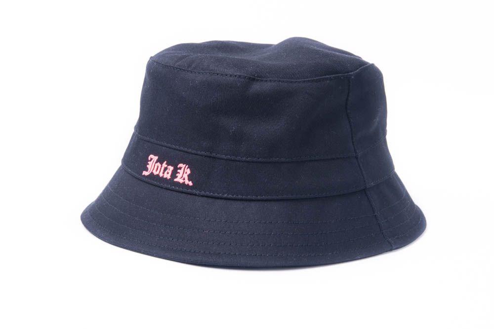 Chapéu Bucket Jota K Logo Fluorescente