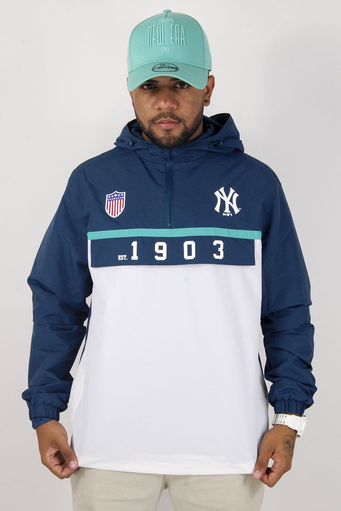 Jaqueta Corta-Vento MLB New York Yankees 1903 New Era