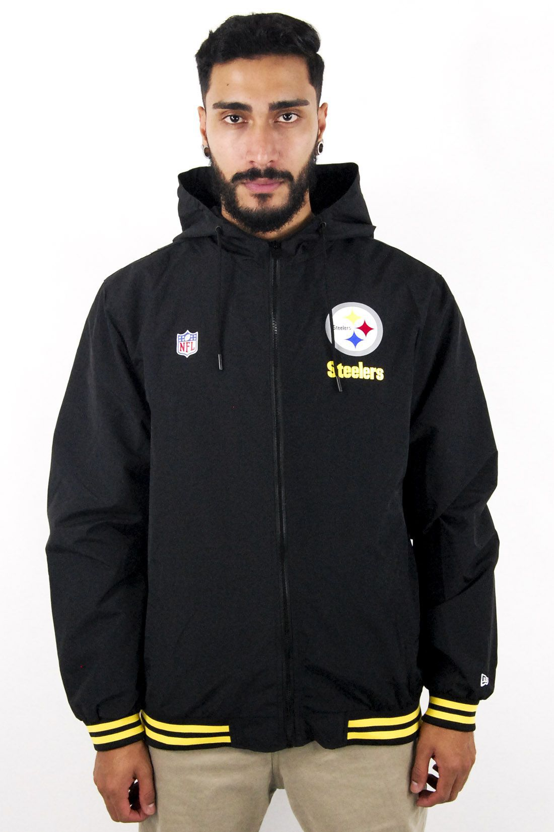 Jaqueta Corta-Vento NFL Pittsburgh Steelers New Era