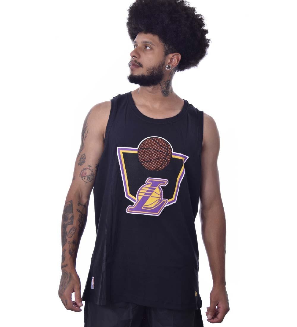 Regata  Plus Size New Era Los Angeles Lakers