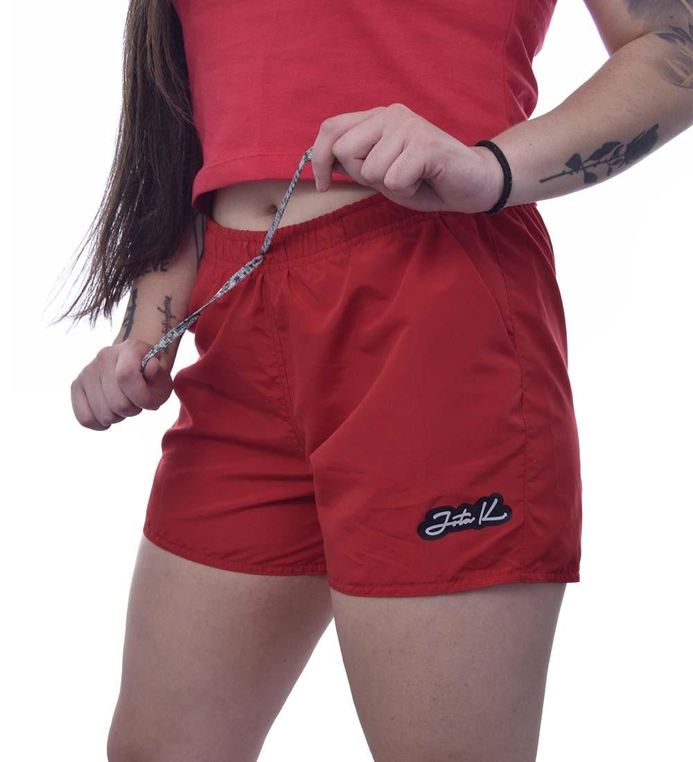Shorts Jota K Microfibra Feminino