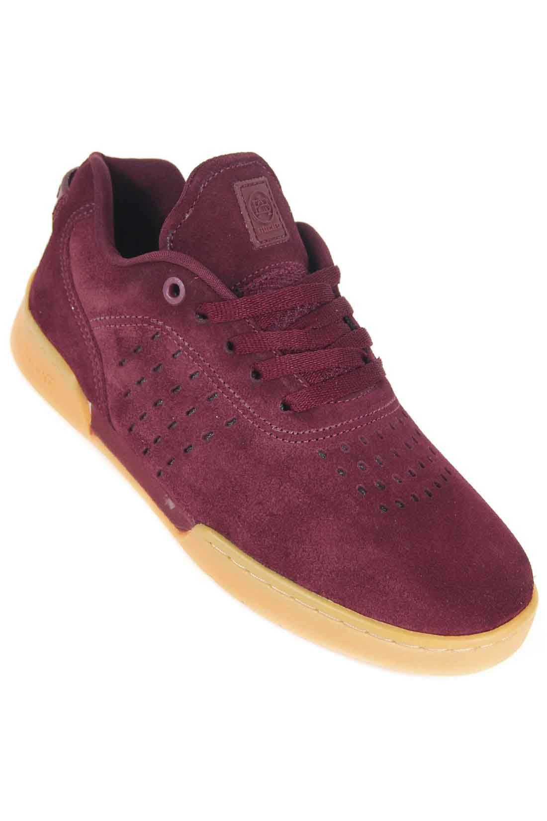 Tênis EVO Burgundy Skate Hocks