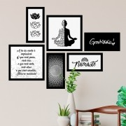 Conjunto Kit 6 Quadrado Decorativos Namaste