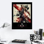 Quadro Decorativo 27x36 Assassins Creed