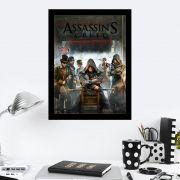 Quadro Decorativo 27x36 Assassins Creed Syndicate