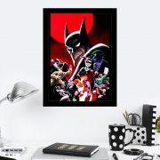 Quadro Decorativo 27X36 Batman Adventures Dangerous Dames and Demons