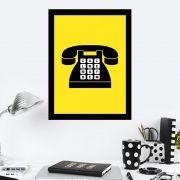 Quadro Decorativo 27x36 Call Me May Be