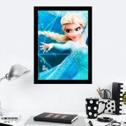Quadro Decorativo 27X36 Frozen Elsa