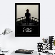 Quadro Decorativo 27x36 Game Of Thrones Barco