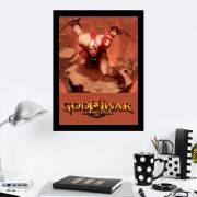 Quadro Decorativo 27x36 God Of War Remastered