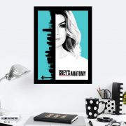 Quadro Decorativo 27x36 Grey's Anatomy