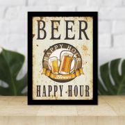 Quadro Decorativo 27x36 Happy Hour