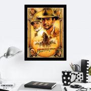 Quadro Decorativo 27X36 Indiana Jones