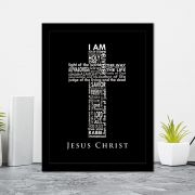 Quadro Decorativo 27x36 Jesus Christ