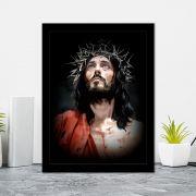 Quadro Decorativo 27x36 Jesus Cristo