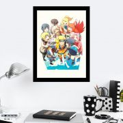 Quadro Decorativo 27x36 Naruto