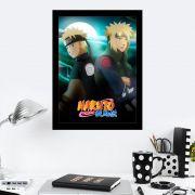 Quadro Decorativo 27x36 Naruto Shippuden
