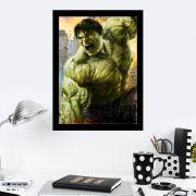 Quadro Decorativo 27X36 O Incrivel Hulk