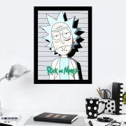 Quadro Decorativo 27x36 Rick and Morty-1