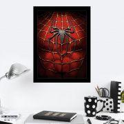 Quadro Decorativo 27X36 Spider Man Logo