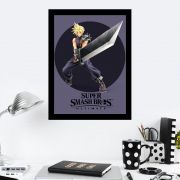 Quadro Decorativo 27x36 Super Smash Bros Wallp
