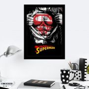 Quadro Decorativo 27X36 Superman