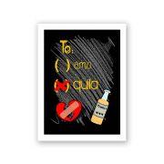 Quadro Decorativo 27x36 Te Amo Tequila