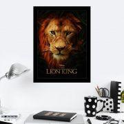 Quadro Decorativo 27X36 The Lion King 2019
