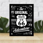 Quadro Decorativo 27x36 The Original Route 66