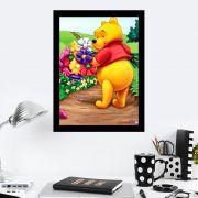 Quadro Decorativo 27x36 Ursinho Pooh