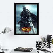 Quadro Decorativo 27x36 War Craft Reign Of Chaos