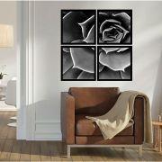 Quadro Mosaico 72x72cm Cactus C/ Mold.