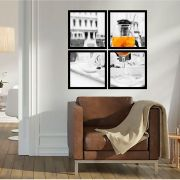 Quadro Mosaico 72x72cm Drink Martini C/ Mold.