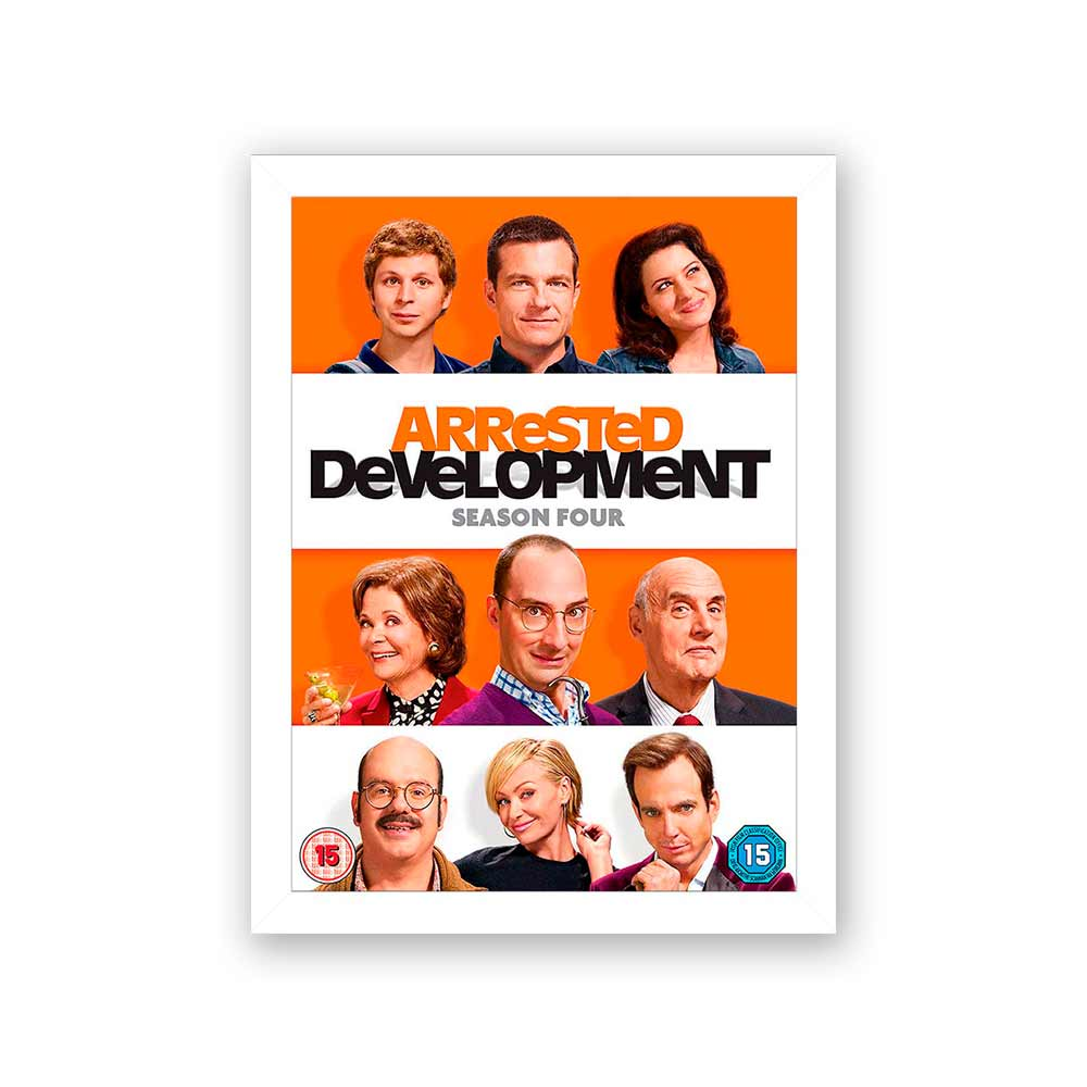 Quadro Decorativo 27x36 Arrested Development Season Four
