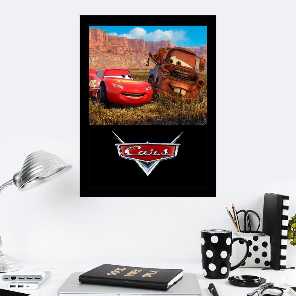Quadro Decorativo 27X36 Cars