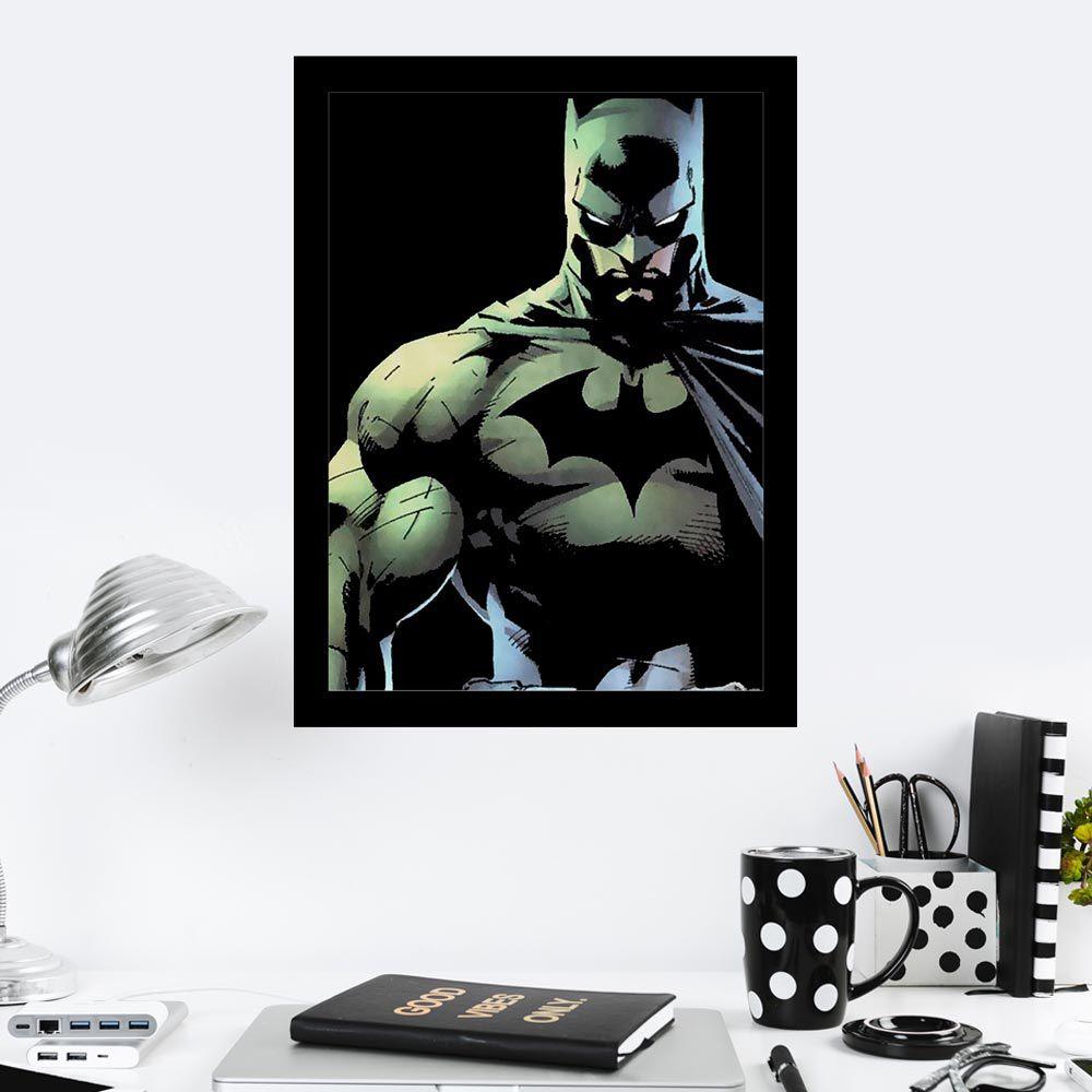 Quadro Decorativo 27X36 Carton Batman