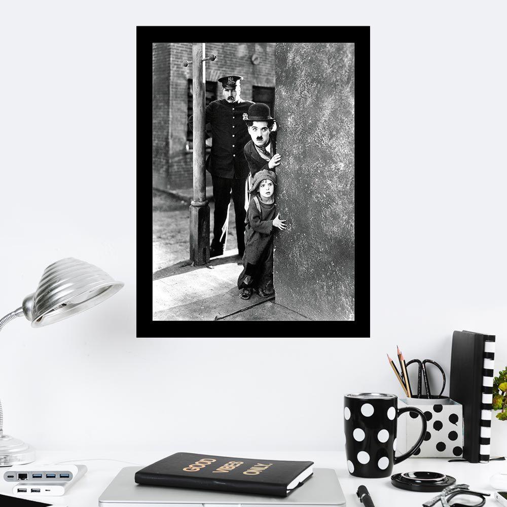 Quadro Decorativo 27x36 Cena Filme Charlie Chaplin