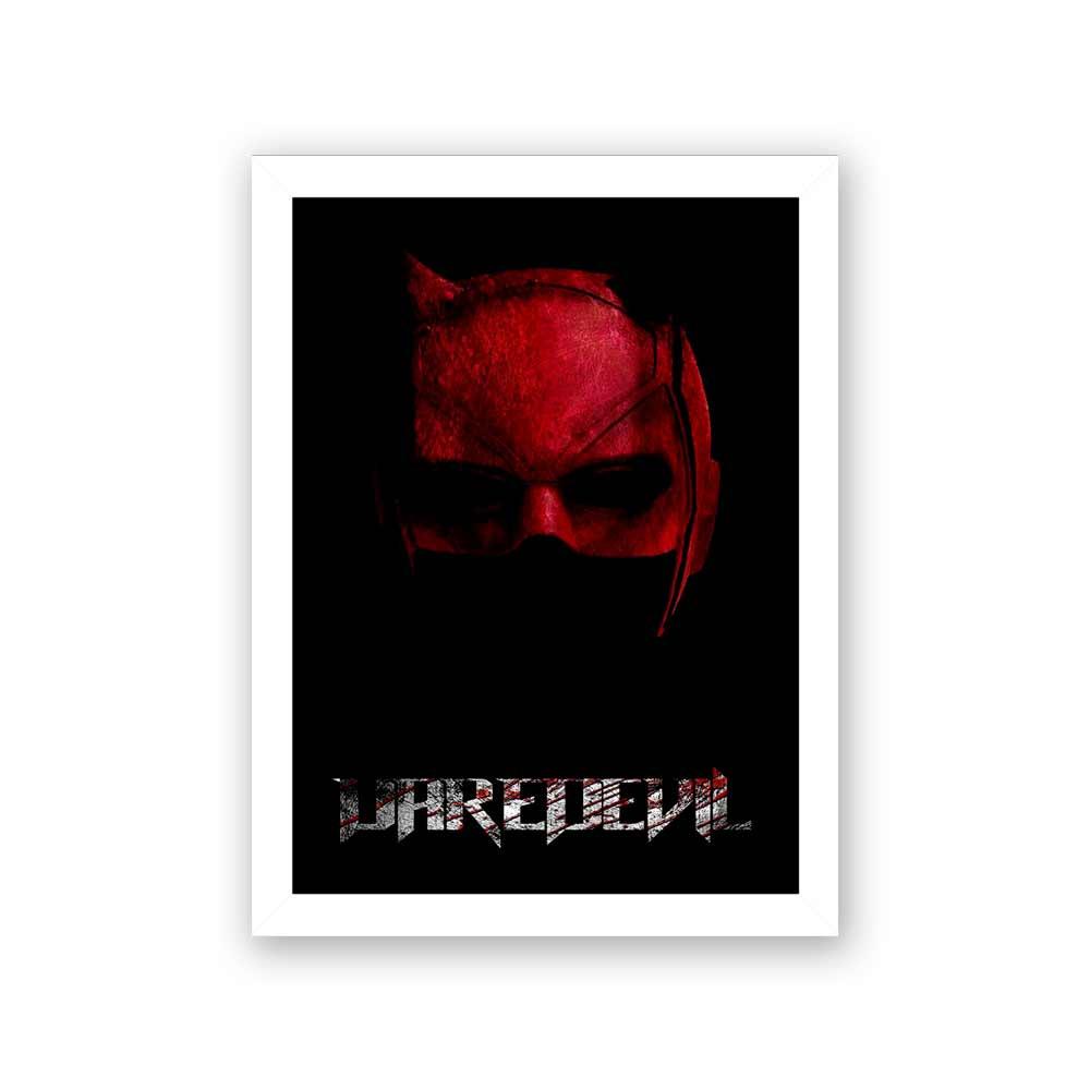 Quadro Decorativo 27X36 DareDevil Máscara