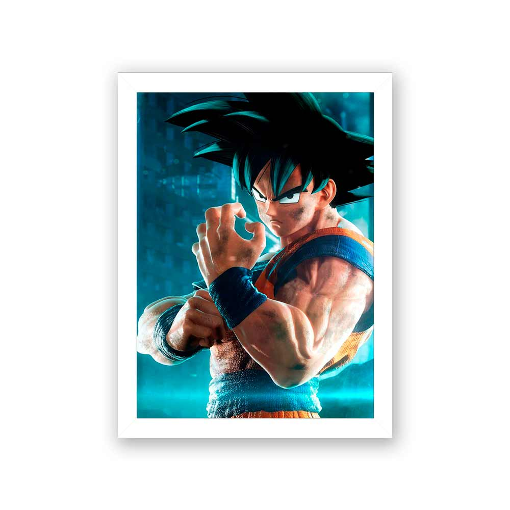 Quadro Decorativo 27x36  Dragon Ball Jump Force