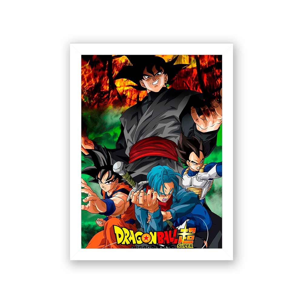 Quadro Decorativo 27x36 Dragon Ball Super