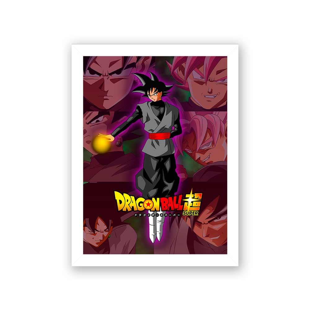Quadro Decorativo 27x36 Dragon Ball Super Goku
