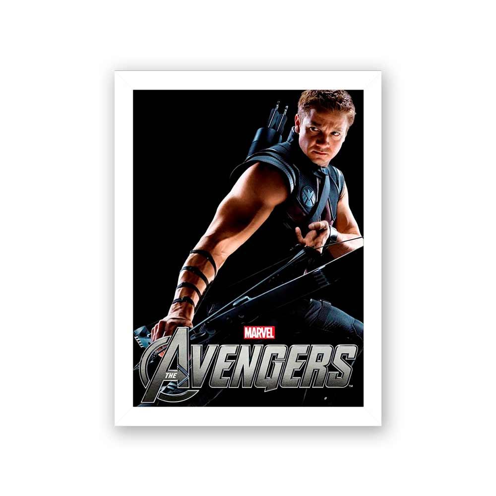 Quadro Decorativo 27X36 Filme Avengers Gavião Arqueiro