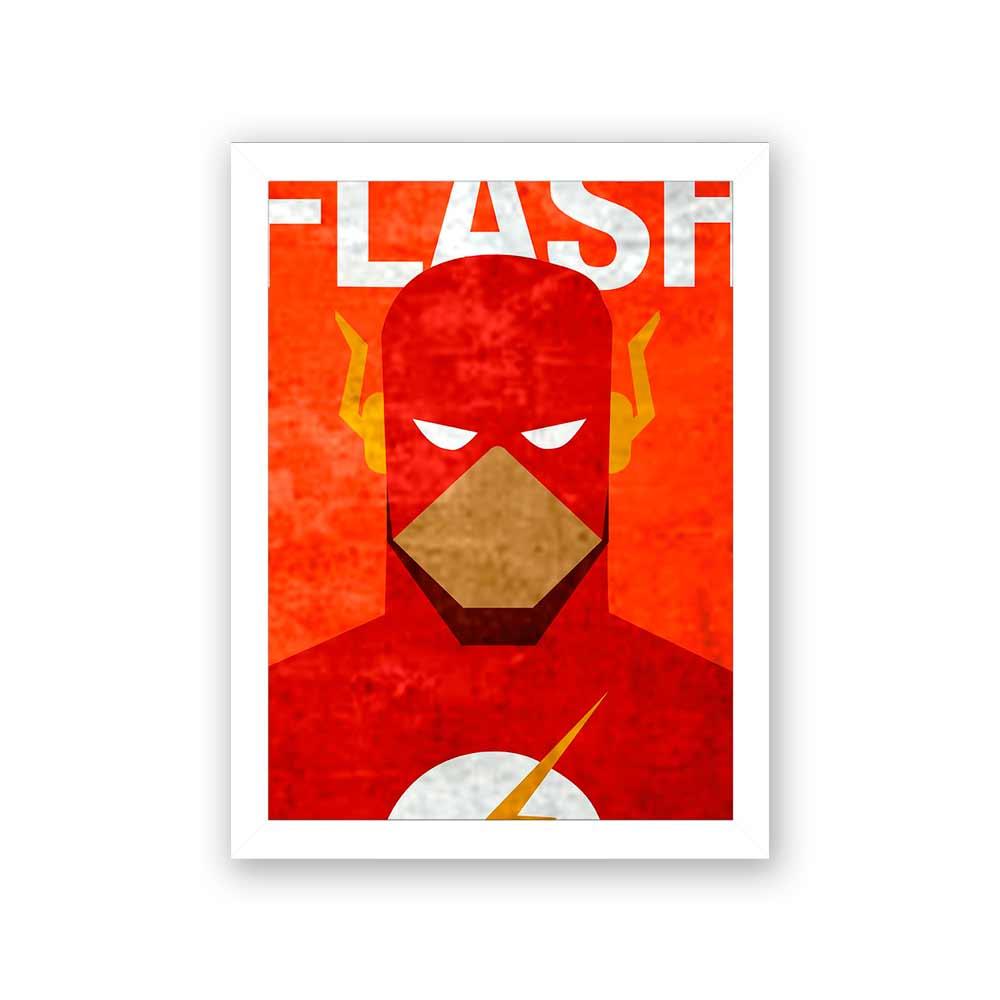 Quadro Decorativo 27X36 Flash Desenho