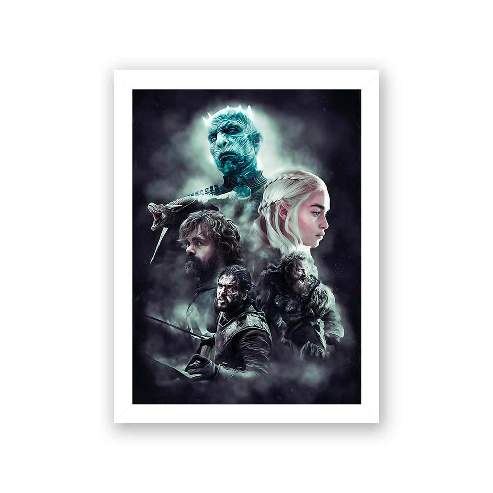 Quadro Decorativo 27x36 Game of Thrones Season 8