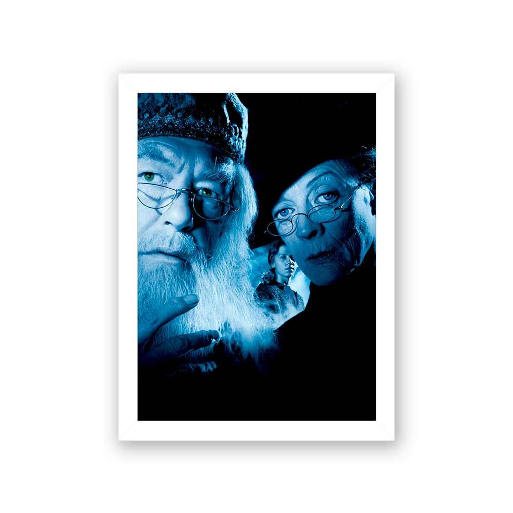 Quadro Decorativo 27X36 Harry Potter O Prisioneiro De Azkaban