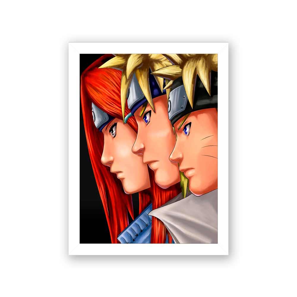 Quadro Decorativo 27x36 Hokage Naruto