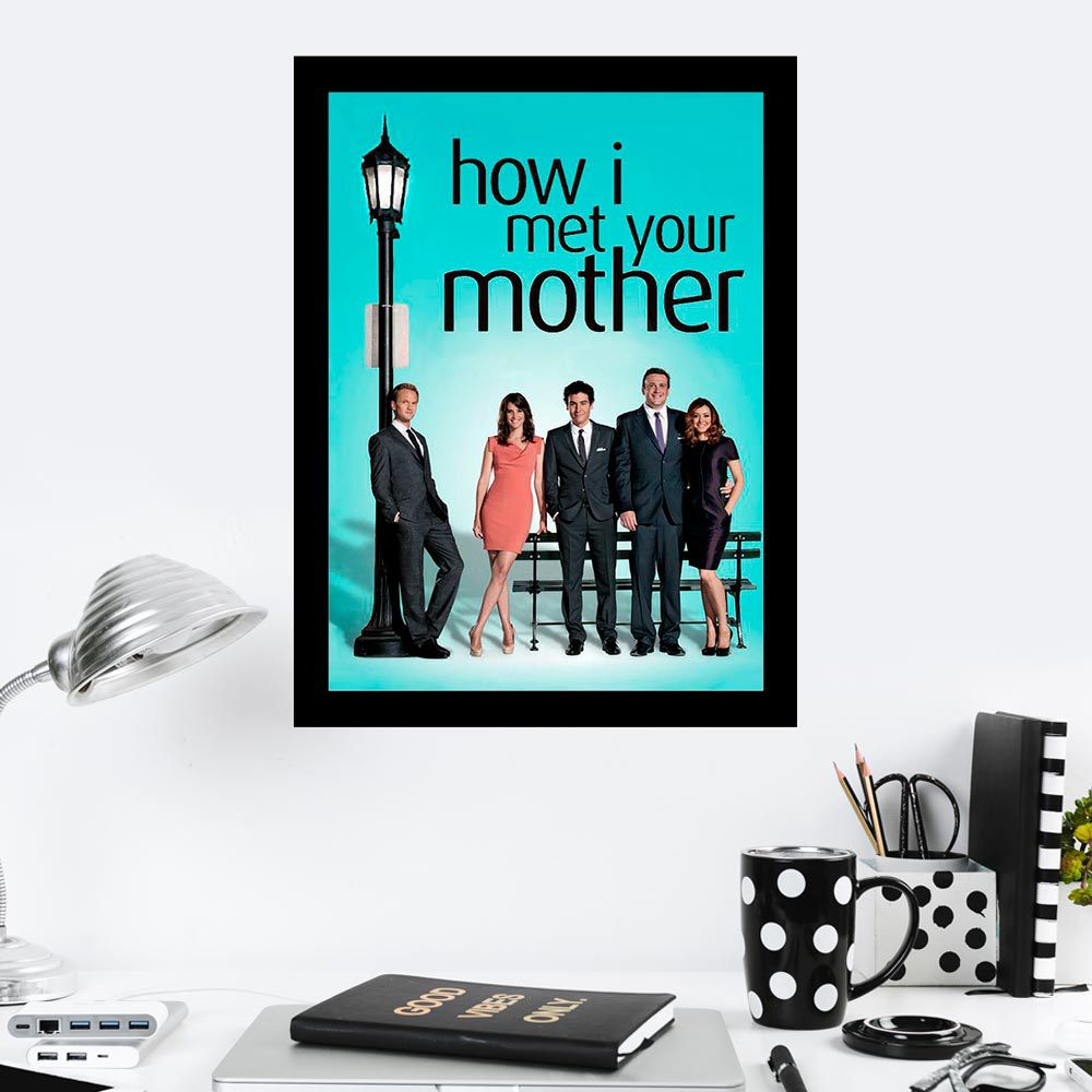 Quadro Decorativo 27x36 How I Met Your Mother