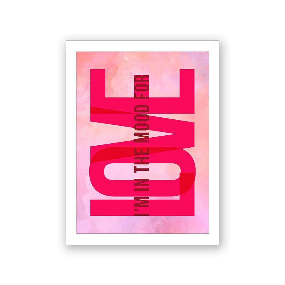 Quadro Decorativo 27x36 I'm In The Mood For Love