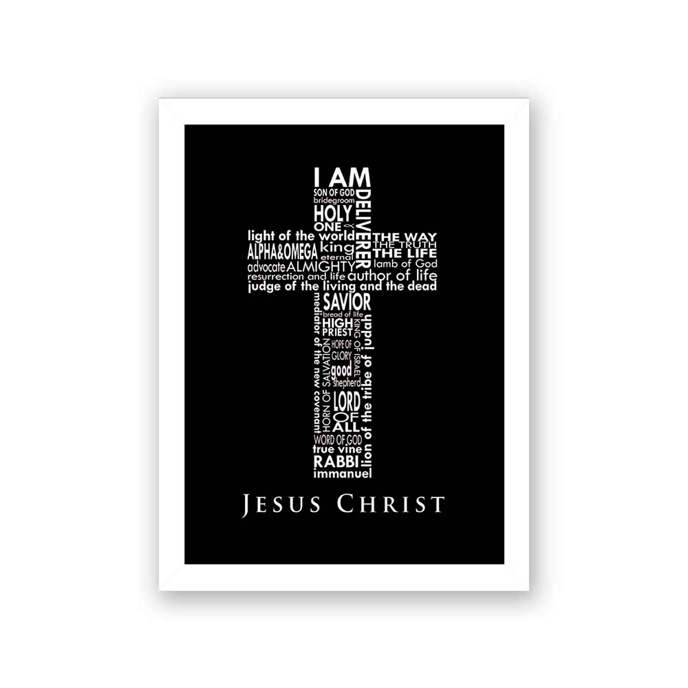 Quadro Decorativo 27x36 Jesus Christ