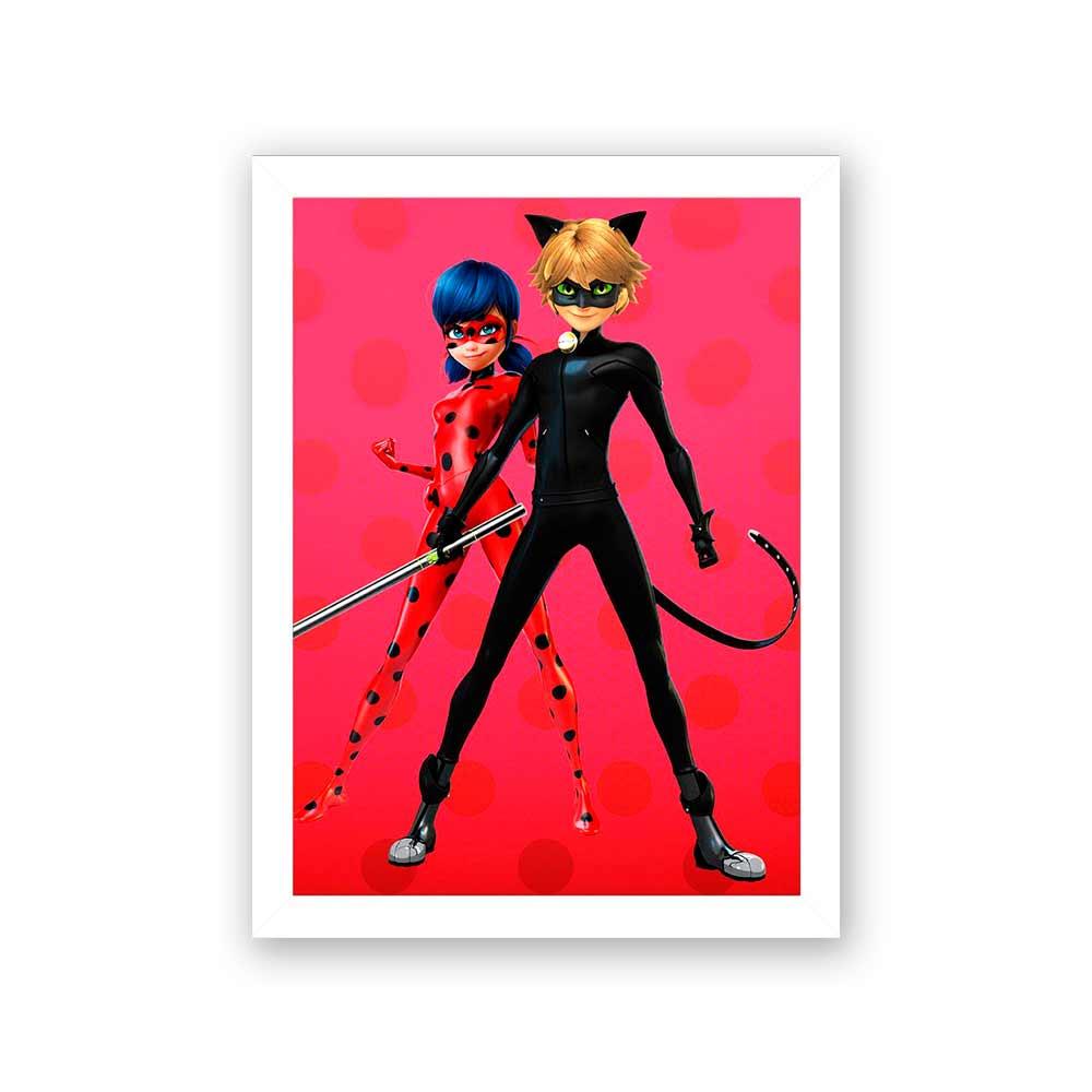 Quadro Decorativo 27x36 LadyBug